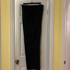 Men's Ralph Lauren Black Dress Pants 44X32, EUC